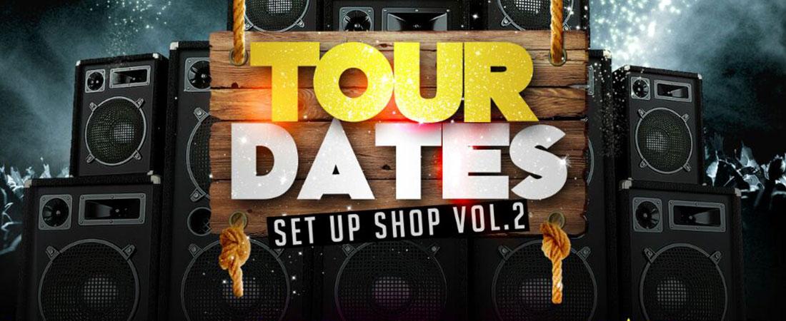April tour dates